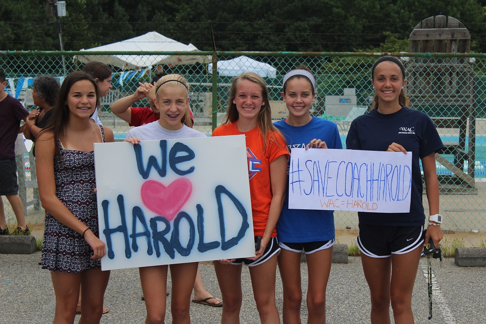 We love Harold sign